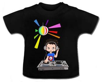 t-shirt baby Dj