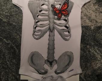 Butterfly in my Heart Infant Bodysuit