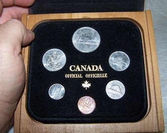 1980 uncirculated Canadian coin set