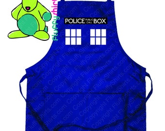 Police Box Apron
