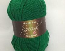 Green, Stylecraft Special DK Yarn, 1116, DK Yarn, green yarn, Christmas green