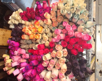Wood Roses Wooden Rose
