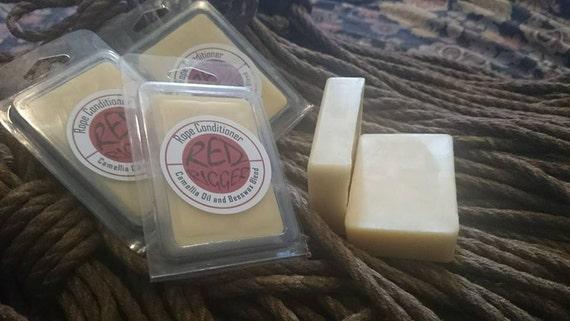Red Rigger Rope Polishing Bar, wax conditioner, vegan option available, BDSM, bondage, shibari, kinbaku, jute, hemp, homemade