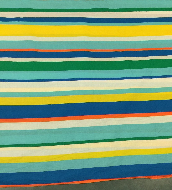 Vintage Stripe Fabric 1 Yd Awning Fabric Vintage