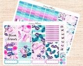 Duchess Little Weekly Set (2 sheets matte planner sticker, fits perfect in Erin Condren Life Planner Vertical)