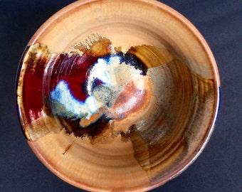 Vintage Artisan Bowl by Ron Lieberman