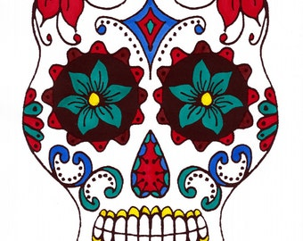 Sugar Skulls - Set of Four - Intastnt PDF Download