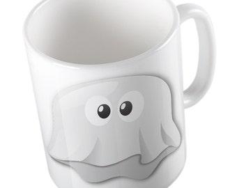Emoji Ghost mug