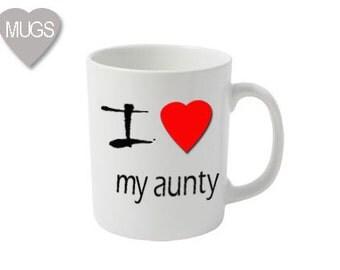 I love my Aunty mug