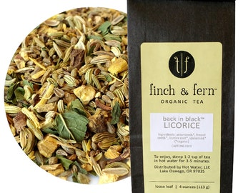 Organic Herbal Tea: LICORICE   Loose Leaf   Large (4 oz)
