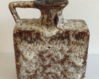Fat Lava West German Earthy Tone Small Jug - mint condition