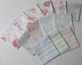 Ballet Rose Treasures by Shabby Chic Fat Quarter Bundle - by Rachel Ashwell