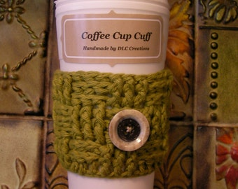 Coffee Cup Cuff Cozy