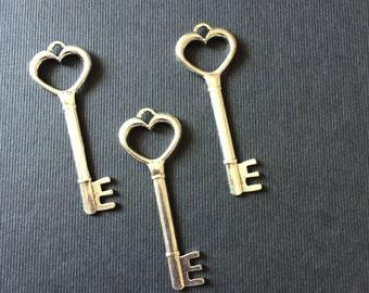 20pcs keys charms