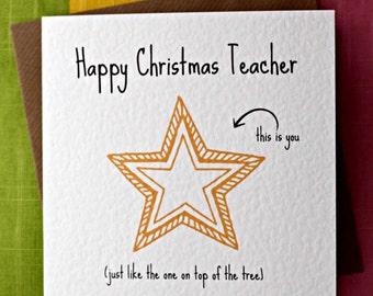 Childminder christmas card children christmas card school teacher christmas star card children christmas card school scristmas card teacher christmas card m4hsunfo