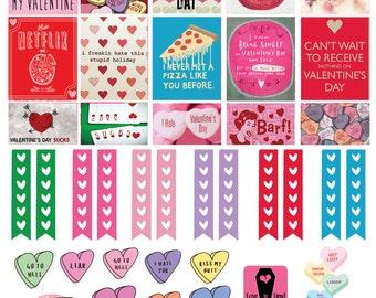 Anti-Valentines Day Sticker Set