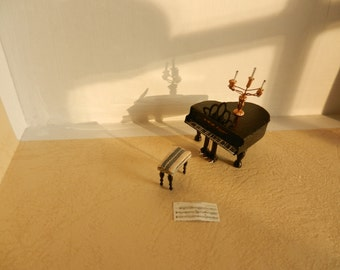 1:48 Grand Piano and Candelabra