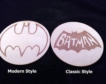 BatMan Bat-Coaster set of 4