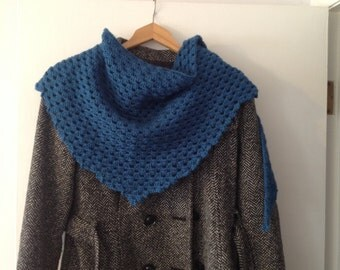 Soft shawl/scarf Teal color