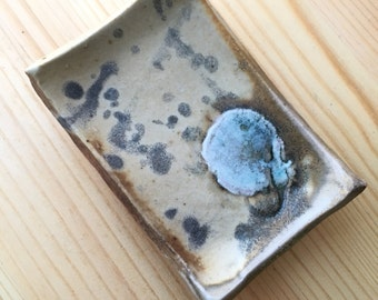 Mini Wood Fired Stoneware Tray