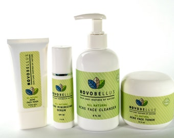All Natural, Organic Acne Fighting Kit