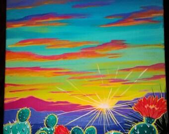 Nuevo Mexico Sunset