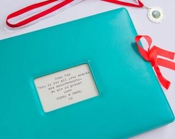 Personalised Memory Book, A3 Art Folder, Scrapbook, Art Album, Child's Scrapbook Album , Memories Folder, Memory Book, Keepsake book