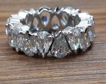Up Down Pear Eternity Band