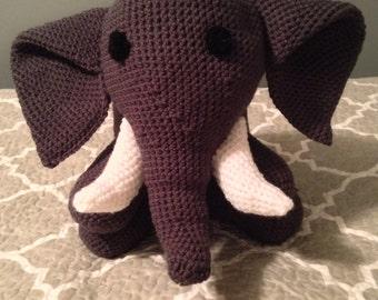 Hand Crochet Elephant Amigurumi