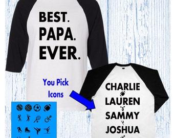 Papa Shirt - Papa Christmas Gift - Best Papa Shirt - Grandpa Gift