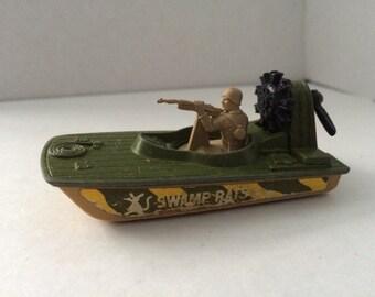 Vintage 1976 Matchbox Swamp Rat vehicle