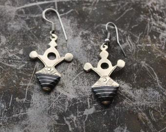 Boho earrings, tuareg earrings, Tribal jewelry, ethnic earrings, bereber jewelry, tribal earrings
