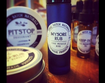 Mysore Rub - sore muscle rub