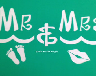 List 2  Mr and Mrs Stencils  *Free gift with every order*