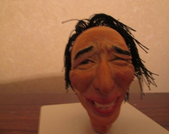 Roberto Benigni - Hand made sculpted by Artist Bobablakhiani