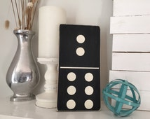 MADE TO ORDER hand painted Domino sign