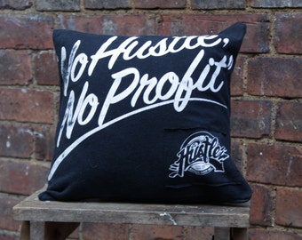 "Hadmade ""No Hustle, No Profit"" Cushion"