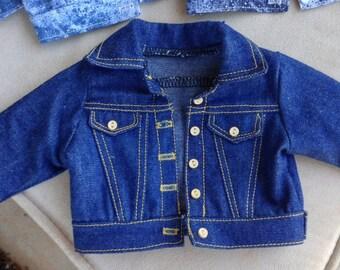 18 Inch Doll, Classic Denim Jacket