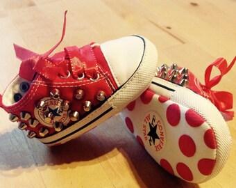 Baby Converse studded dress