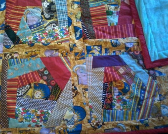 Children's Crazy Quilt