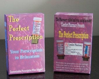 The Perfect Prescription-Prescription Wine Bottle Topper