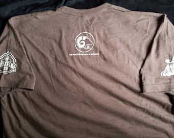 Rams Restaurant and Brewery T Shirt,Rams Brown T Shirt,NFL Football T Shirt,