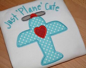 Just Plane Cute Top