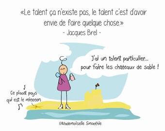 Postcard: talent