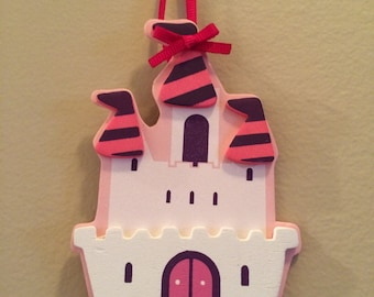 Princess Castle Hairbow Holder