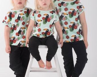 Easy tee - enkel kortärmad tröja. stl 50-170