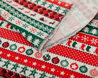 High quality christmas fabric by one yard