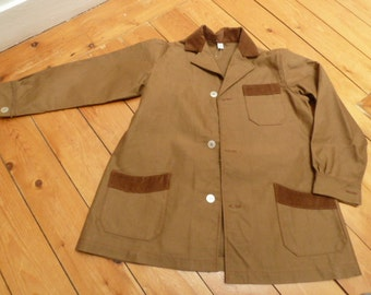 1960s vintage kid's jacket, summer-weight, french deadstock, NOS