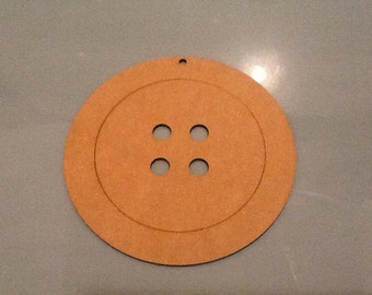 3mm mdf button 15cm high