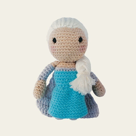 Amigurumi Disney Princess : Elsa Disney Princess. Amigurumi Pattern PDF DIY Crafts